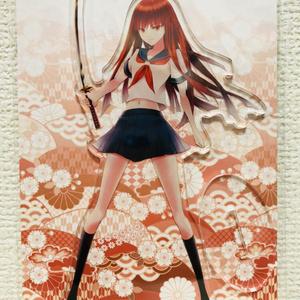 アクリルフィギュア02・赤髪紅刃さん