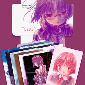 キャティさんポストカード12枚セット