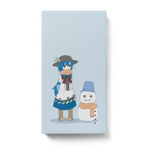 天子 モバイルバッテリー(冬)