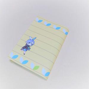 アエルちゃんのレザーブックカバー(フルカラー)