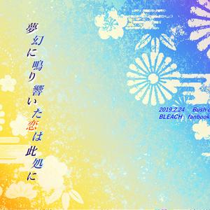 【BLEACH藍一】夢幻に鳴り響いた恋は此処に