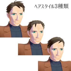 竹流式オリジナル3Dモデル「デイヴィッド」