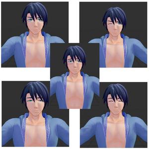 竹流式オリジナル3Dモデル「フィリップ」