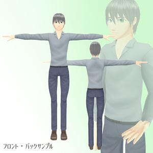 竹流式オリジナル3Dモデル「ジョンスミス」