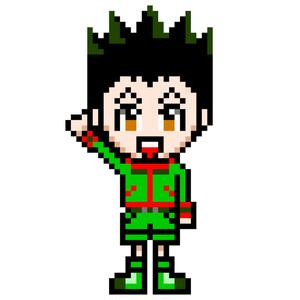 ドットアクキー/ゴン