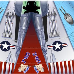 米空軍戦闘機「ハンマーヘッド」紙飛行機データ