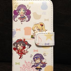 みゅーずちゃん手帳型モバイルケース(iPhone5/5s用)