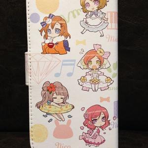 みゅーずちゃん手帳型モバイルケース(iPhone6用)