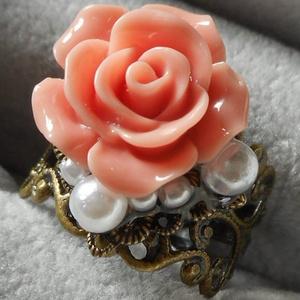 リング・薔薇とパール