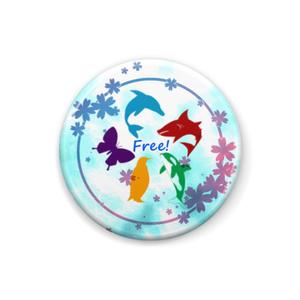 【Free!】缶バッチ