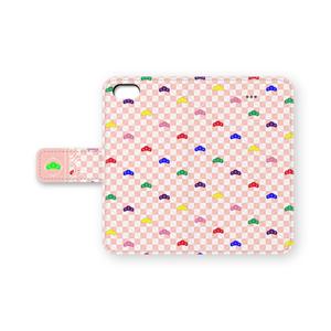 【おそ松さん】手帳型iPhoneケース1・ピンク