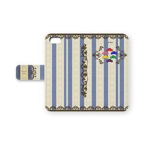 【おそ松さん】手帳型iPhoneケース2・青