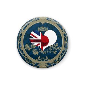 【ヘタリア】缶バッジ(島国)・青