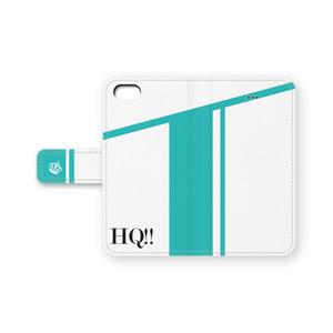 【ハイキュー!!】手帳型iPhoneケース2・青葉城西