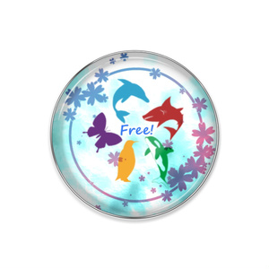 【Free!】ピンバッジ