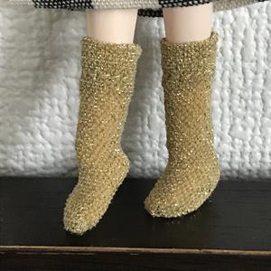 オビツ11  キラキラ靴下