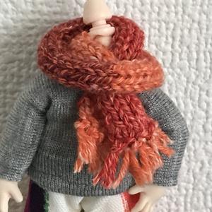 オビツ11 手編みのマフラー