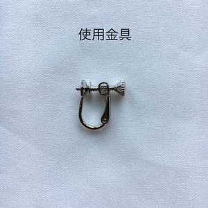 フロストピアス/イヤリング Frost earring / Non-hole earring