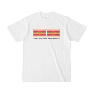 トマトバジルチーズのスペシャルサンドイッチのTシャツ