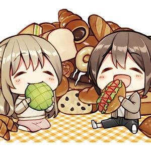 パン食いアクリルジオラマ