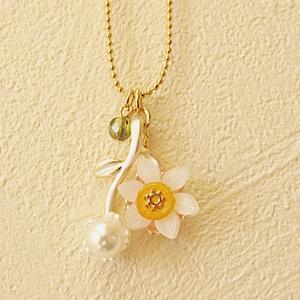 水仙のネックレス