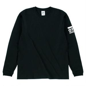 おやすみおばけロングTシャツ 黒