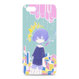 iphone(5&6)ケース「空の子」