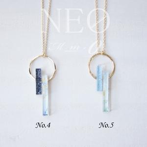 -M(マイナス・エム) & NEØ(ネオ) ネックレス