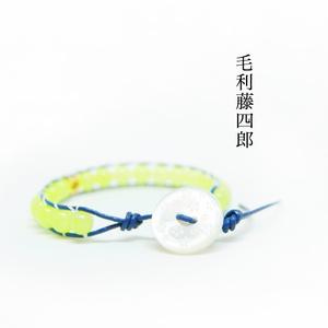 毛利藤四郎 ラップブレスレット(刀剣乱舞)