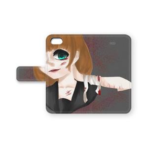 メンヘラ少女 iPhoneケース