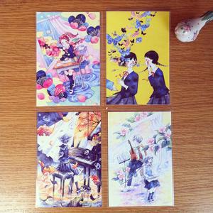 ポストカード4枚セット(税込・送料込)