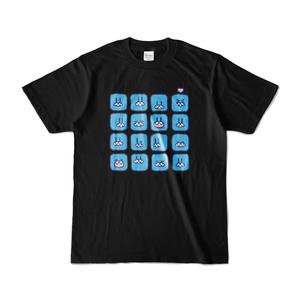 らだおくんTシャツ(黒)