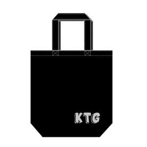 KTGオリジナルトートバッグ(黒)Mサイズ