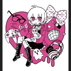 利香♥オリジナルパーカー(白)