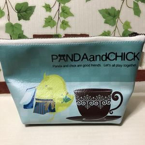 さんかくポーチ(PANDAandCHICK)