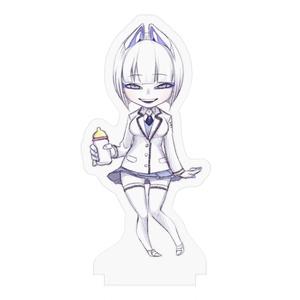 哺乳瓶クリンちゃんのアクリルスタンドフィギュア
