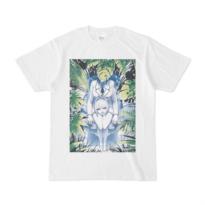 クリンちゃんと植物Tシャツ