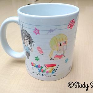 「Study Steady」マグカップ