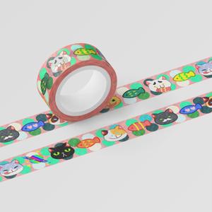 にゃんこ Maskig tape