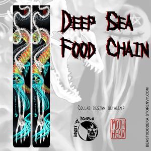 Deep Sea Food Chain 入れ墨ニーハイ