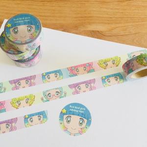 キラキラガールズ☆マスキングテープ