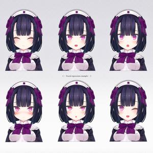 【オリジナル3Dモデル】メディカルセンタースタッフさん