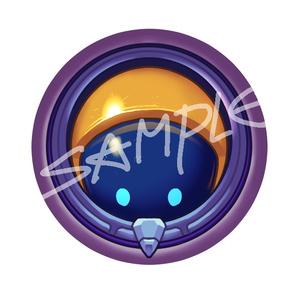 缶バッジ-AstroNautilus