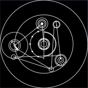 回る幾何学模様シェーダー