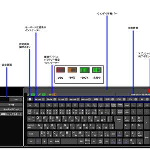 日本語対応VRオーバーレイキーボード