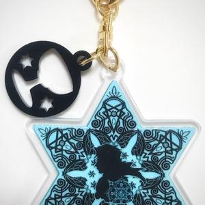新宿のアーチャー 六芒星型アクリルキーホルダー