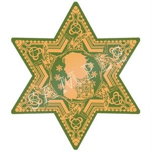 シェイクスピア 六芒星型アクリルキーホルダー