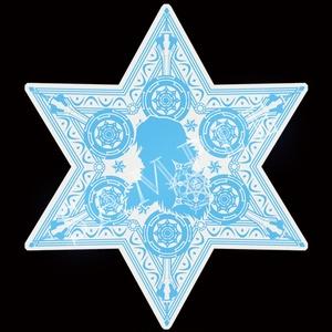 ガウェイン 六芒星型アクリルキーホルダー
