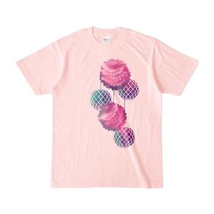 ハニカムポンポン [カラーTシャツ]
