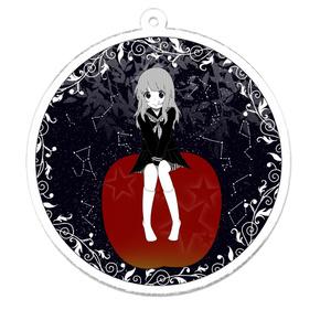 アクリルキーホルダー 【りんごガール】